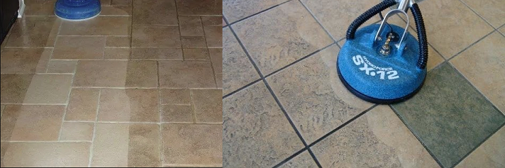 tile and grout cleaning - hard floor cleaning